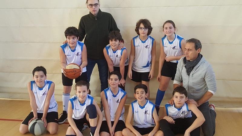 Equipo basket alevin 2