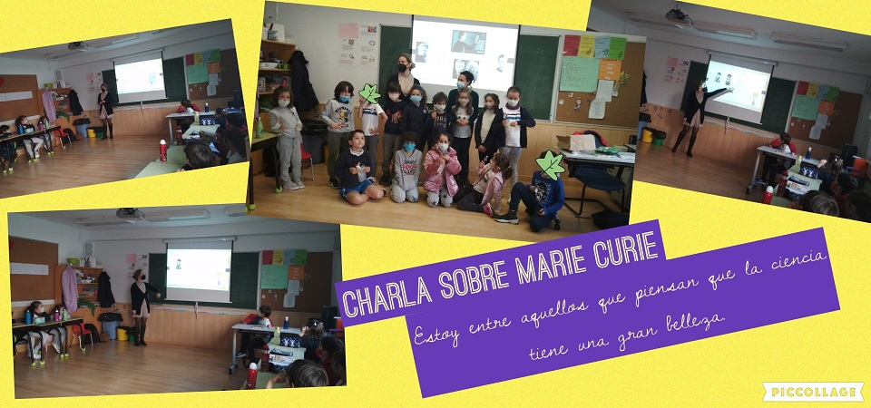 CHARLA SOBRE MARIE CURIE