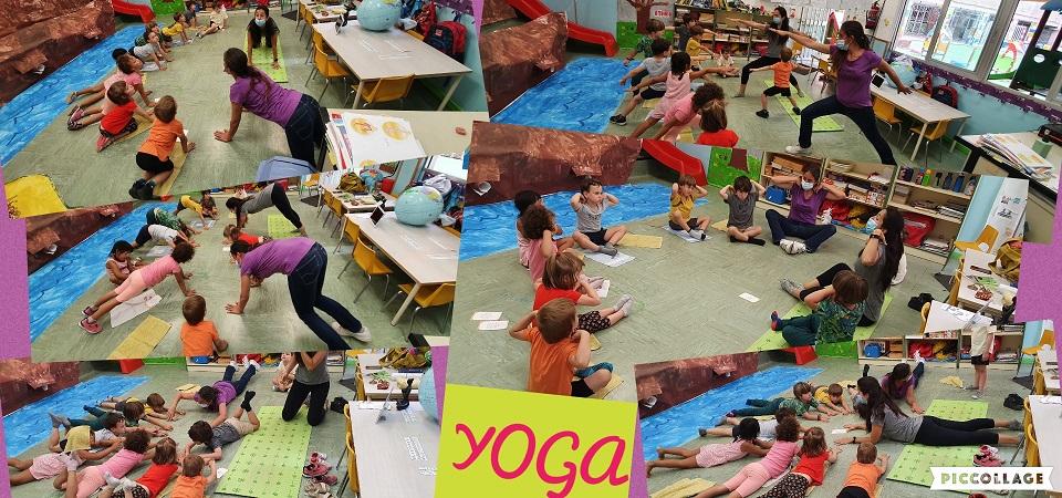 Yoga en 4 años